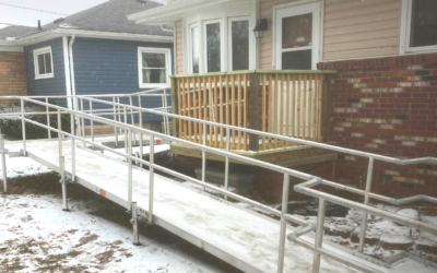 Habitat, VFW Provide Ramp for Local Veteran