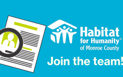 Habitat is Hiring