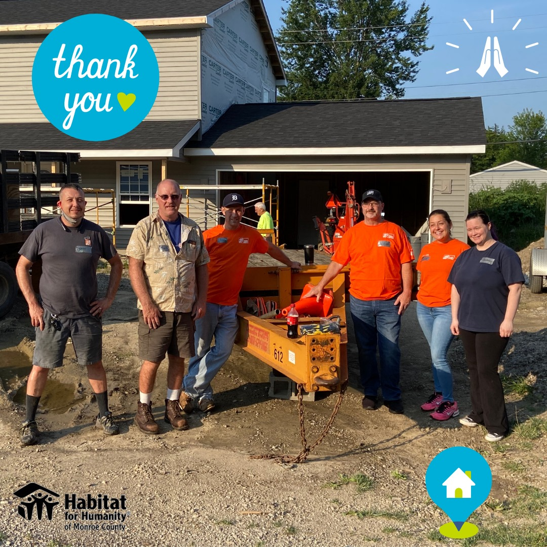 Thrivent Venture Build, Supported by Volunteers- Thank You!