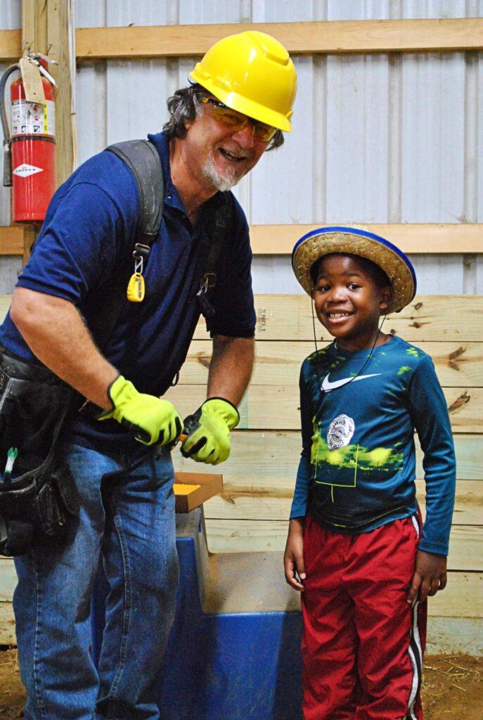 "Habitat Monroe Takes Part in Little Blessings' ""Wax Museum of Community Leaders"""